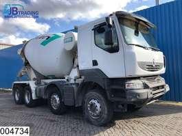 concrete mixer truck Renault Kerax 410 Dxi 8x4,  Imer group mixer, Steel suspension, Manual, Airco, H... 2009