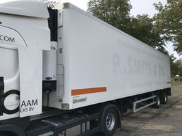 refrigerated semi trailer Tracon Lamberet. Koel vries 2005