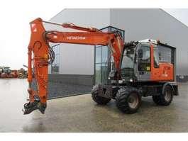 wheeled excavator Hitachi ZX130W 2006