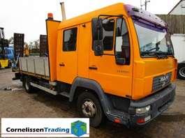 loading ramp truck MAN L 12 LC oprijwagen 2001