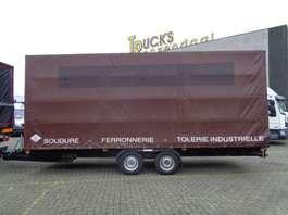 tilt car trailer JCB TD-200 + 2 Axle 2005