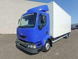 closed box truck Renault PREMIUM 210 + MANUAL + LIFT 2005