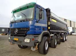 camion à benne basculante Mercedes Benz Actros 5044 + MANUAL + KIPPER + 23 M3 + CAMERA 2005