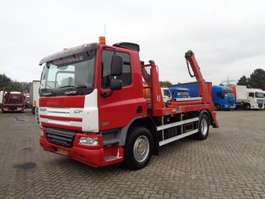 Container-LKW DAF CF75.250 + PTO + Portal system + Euro 5 2009