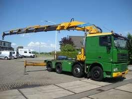 tracteur poids lourd DAF 95 430PK 8X2 MET EFFER 98 TON KRAAN 2001