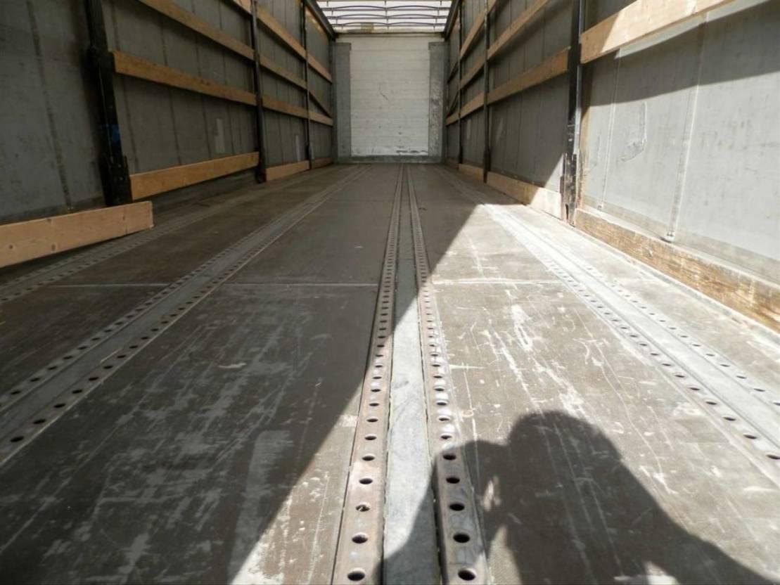 semirreboque de cortina deslizante Fliegl 3-assige oplegger 2008