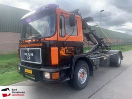 container truck MAN 18.192 kabel containersysteem 1990