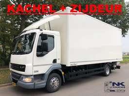 geschlossener Kastenwagen DAF LF 45.180 GESLOTEN LAADBAK MET VERWARMING EN ZIJDEUR 2014