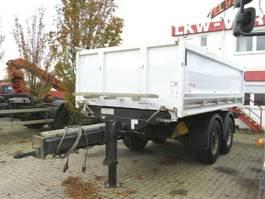 tipper semi trailer Carnehl Kippanhänger CTK/ST Kippanhänger
