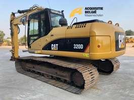escavadora de rastos Caterpillar 320DL 2008