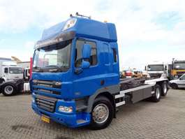Container-LKW DAF CF 85 410 + EURO 5  + 6X2 + HOOKLIFT + NL TRUCK + 10 TIRES + TOP 2008