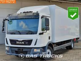 closed box truck > 7.5 t MAN TGL 12.220 4X2 Ladebordwand Euro 6 2014