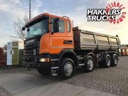 camion à benne basculante Scania GR 450 8X4 MHZ Meiller ,RETARDER 2016
