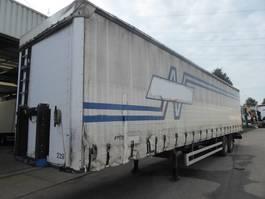 flatbed semi trailer Kögel S18, Edscha, SAF, Disc 2008