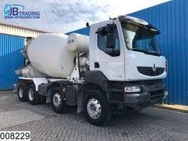 concrete mixer truck Renault Kerax 430 Dxi  8x4, EURO 5, Baryval, Beton / Concrete mixer , Steel susp... 2012