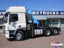 camion grue DAF 85 CF 410 6x2 43ton kraan Euro 5 2010