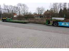 lowloader semi trailer Faymonville 2-ass. Uitschuifbare dieplader met afneembare nek // PENDEL assen 2013