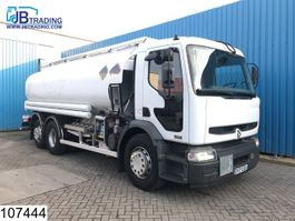 tank truck Renault Premium 320 6x2, 18540 Liter, Fuel tank, 5 Comapartments,  Manual, Analo... 2004