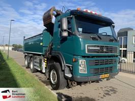 camion à benne basculante > 7.5 t Terberg FM 1350 6x6 euro 5 kipper met HMF Z-kraan 2010