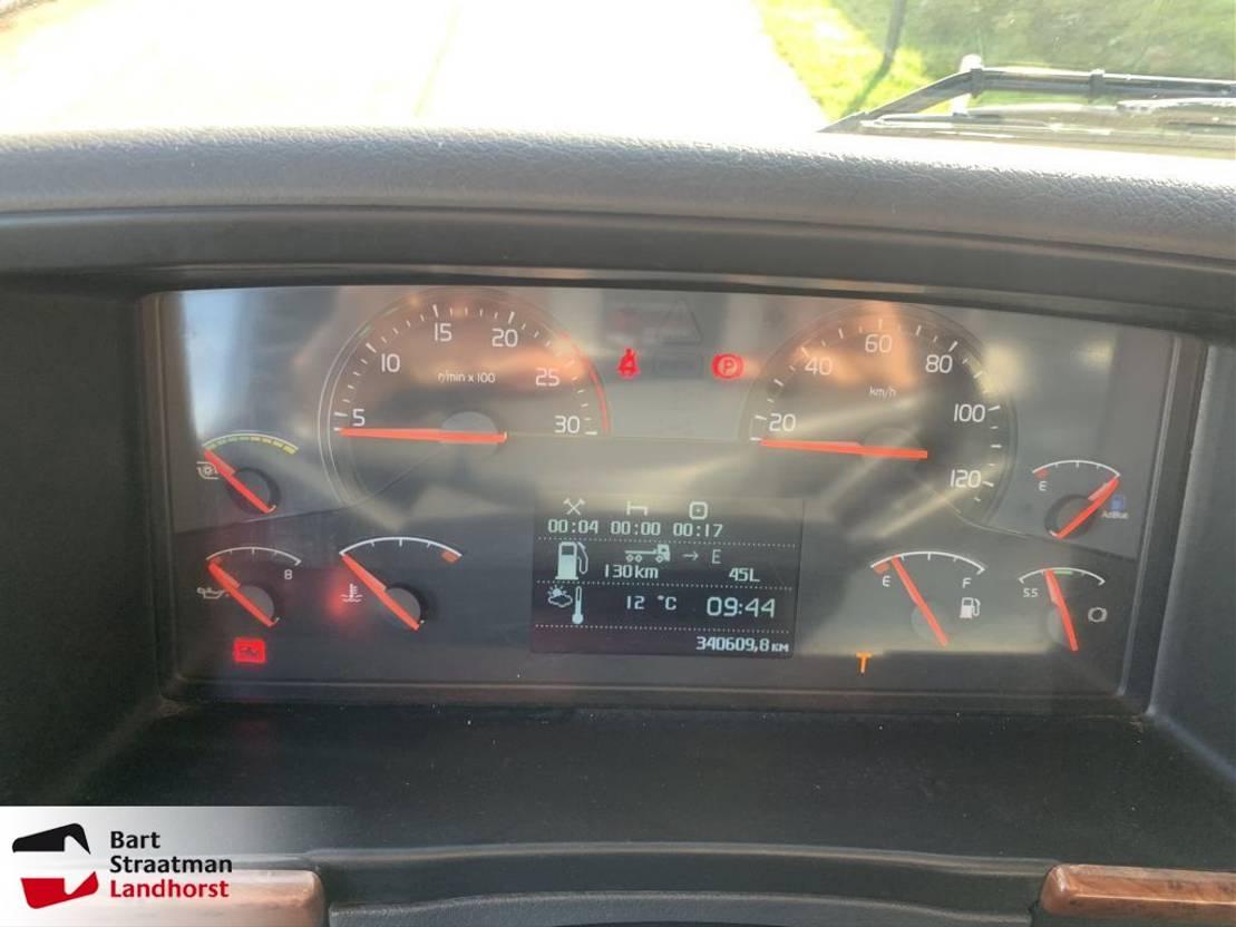 LKW Kipper > 7.5 t Terberg FM 1350 6x6 euro 5 kipper met HMF Z-kraan 2010