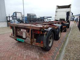 Container-Fahrgestell Auflieger Craven tasker 20 FT chassis / Steel suspension / BPW axles 1991