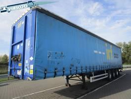 sliding curtain semi trailer Pacton T3-001 2009