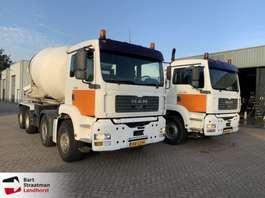 camion betoniera MAN 37.360 8x4 kabelsysteem met betonmixer 2002