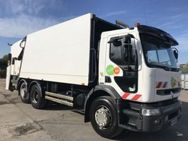 garbage truck Renault PREMIUM 270 6X2 **REFUSE TRUCK-BOM** 2002