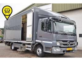 closed box truck > 7.5 t Mercedes Benz ATEGO 816 4X2 AUTOMAAT L630xB241xH225 2013