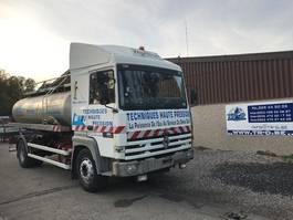 tank truck Renault R385 MAJOR CITERNE EN INOX 5 COMP
