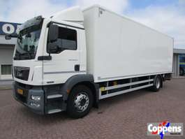 closed box truck MAN TGM 18.290 Euro 6 2013