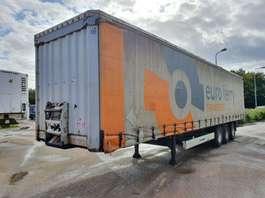 sliding curtain semi trailer Krone BPW - DRUM - 2011 2011