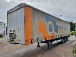 sliding curtain semi trailer Krone BPW - DRUM - 2010 2010