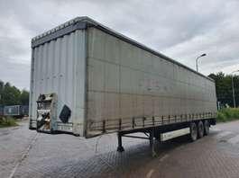 sliding curtain semi trailer Krone Schuifdak - Schuifzeilen 2008