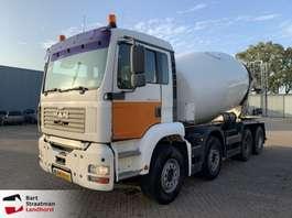 camion betoniera MAN 37.360 betonmixer manual hubreduction steelsuspension 2003