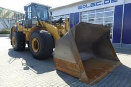 wheel loader Caterpillar 972K Radlader 26,2 Ton / 11.889 H 2011