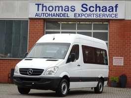 samochód dostawczy do przewozu wózków inwalidzkich Mercedes Benz Sprinter 311Cdi Flex-i-Trans Rollstuhllift 9Sitz 2007