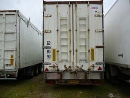 closed box semi trailer Legras FOND MOUVANT 1994