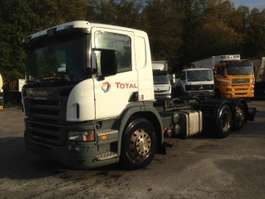 chassis cab truck Scania R420 6X2 WITH ADR 2005