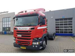 chassis cab truck Scania R520 CR19, Euro 6 2016