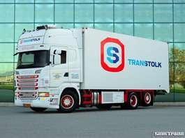 camión frigorífico Scania R500 V8 6X2 E5 RETARDER CARRIER SUPRA  FRIGO DEEP FREEZE 2011