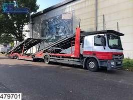 car transporter truck Mercedes Benz Actros 1841 EURO 5, Multilohr, Retarder, Airco, Cartransporter, Powershi... 2010
