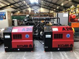 Kompressoren EcoAir A26 22 kW 3000 L / min 8 bar Silent Schroefcompressor 2001
