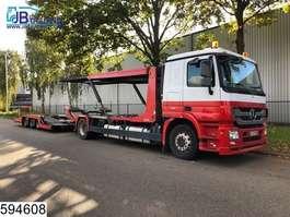 car transporter truck Mercedes Benz Actros 1844 EURO 5, Retarder, Standairco, Airco, Powershift, Multilohr, ... 2011