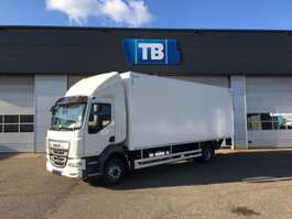 closed box truck DAF NEW LF210 11990 or 14T Daycab Autom Airco D'Hollandia 1500KG Junge Box 2019