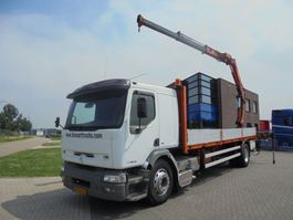 Plattform-LKW Renault Premium 340 / Platform / Effer 170 Crane / NL Truck / Manual 1998