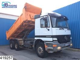 camión de volquete > 7.5 t Mercedes Benz Actros 3331 6x4, 13 Tons axles, Manual, Steel suspension, Naafreductie 1999