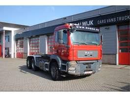container truck MAN TGA 28.413 6x4 Big Hub, MANUAL Manual 6x4 2002