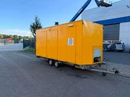 closed box car trailer Barli Decontaminatiewagen Wagen 2000