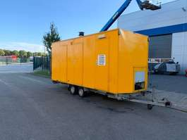 прицеп-закрытый короб Barli Decontaminatiewagen Wagen 2000